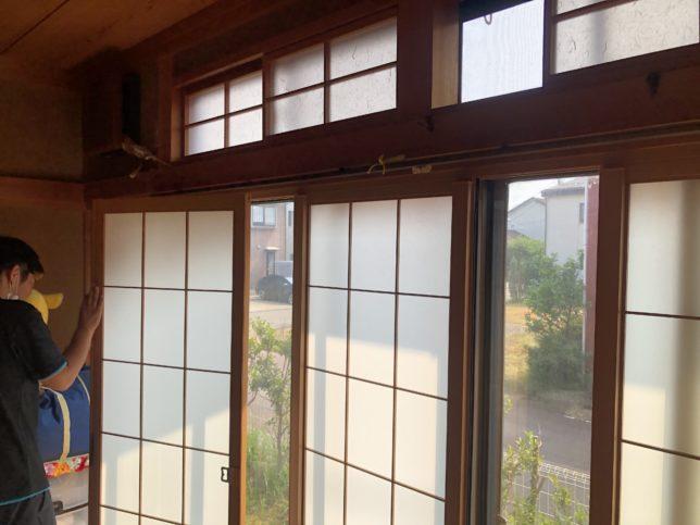 内窓取付け工事