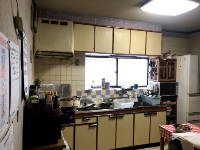 着前 実家 キッチン1