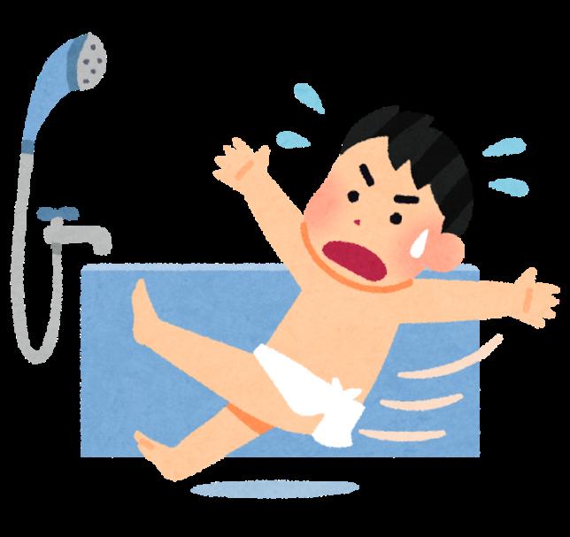 お風呂での事故をなくそう