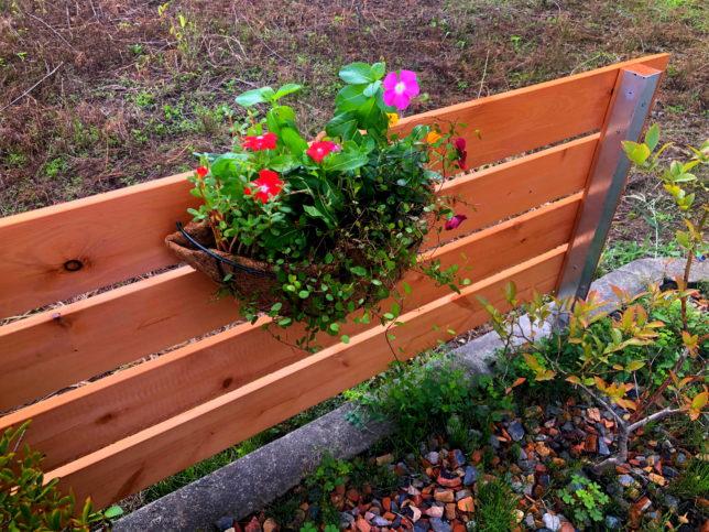 花壇フェンス4
