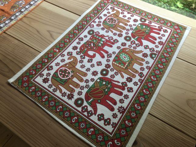 インド綿のテーブルクロス2